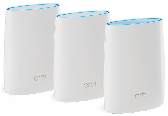 NETGEAR Orbi Wi-Fi System Kit of Three