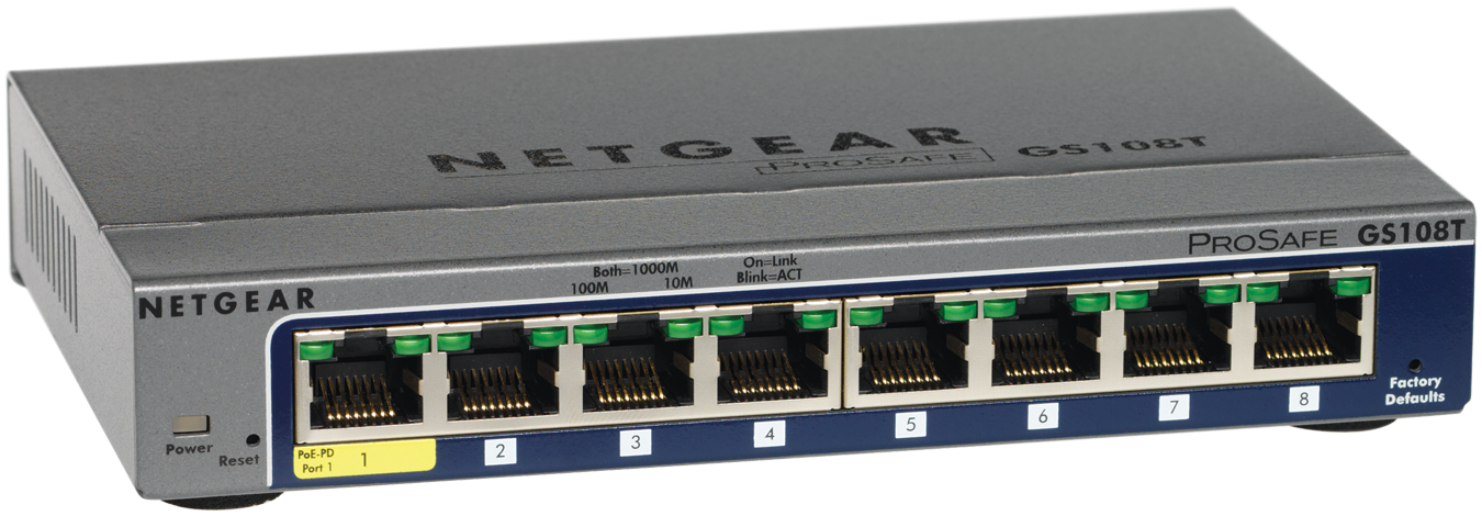 Netgear 24-Port Gigabit Ethernet Hi-Power PoE+ Smart Managed Pro Switch with 2 SFP Ports and optional Insight Remote/Cloud Management (380W)
