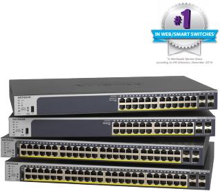 NETGEAR GS752TPP 48-Port Gigabit PoE+ Smart Managed Pro