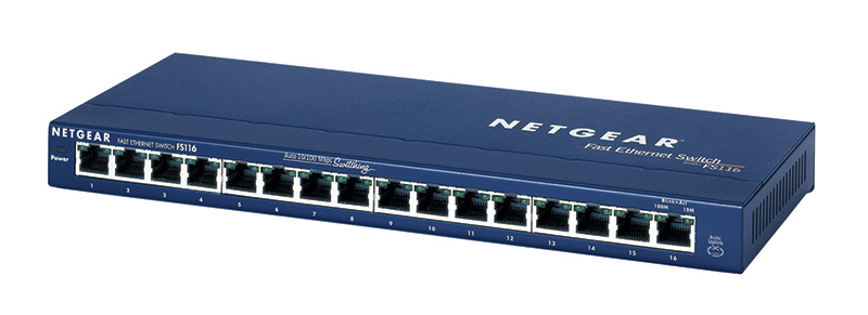 NETGEAR FS116 ProSafe® 16-Port Desktop Switch