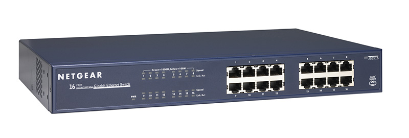NETGEAR JGS516 ProSafe® 16-Port Gigabit Ethernet Switch